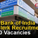 State Bank of India  PO, Clerk Recruitment : 14,000 Vacancies