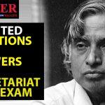 Secretariat Asst. Exam 100 Q&A