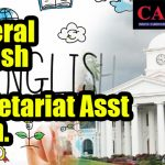 General English for Secretariat Asst Exam.
